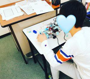 ロボットプログラミング教室の様子