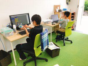こどもプログラミング教室の様子